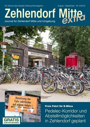 Titelbild Zehlendorf Mitte Journal 4/2016