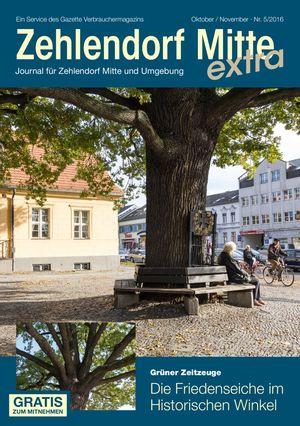 Titelbild Zehlendorf Mitte Journal 5/2016