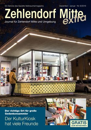 Titelbild Zehlendorf Mitte Journal 6/2016