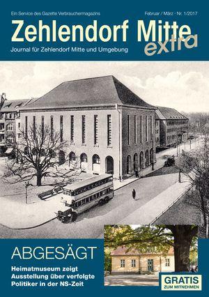 Titelbild Zehlendorf Mitte Journal 1/2017
