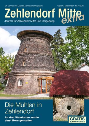 Titelbild Zehlendorf Mitte Journal 4/2017