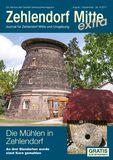 Titelbild: Zehlendorf Mitte Journal August/September Nr. 4/2017