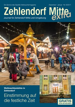 Titelbild Zehlendorf Mitte Journal 6/2017