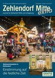 Titelbild: Zehlendorf Mitte Journal Dezember/Januar Nr. 6/2017
