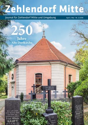 Titelbild Zehlendorf Mitte Journal 2/2018