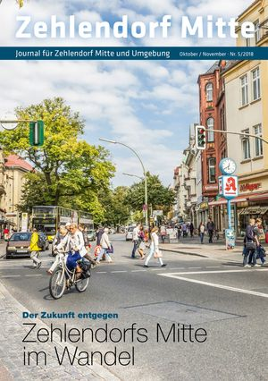 Titelbild Zehlendorf Mitte Journal 5/2018