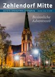 Titelbild: Zehlendorf Mitte Journal Dezember/Januar Nr. 6/2018