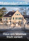 Titelbild: Zehlendorf Mitte Journal April/Mai Nr. 2/2019