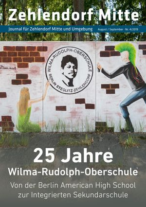 Titelbild Zehlendorf Mitte Journal 4/2019