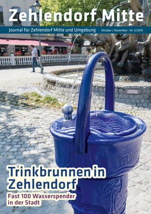 Titelbild Zehlendorf Mitte Journal 5/2019