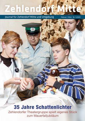 Titelbild Zehlendorf Mitte Journal 1/2020