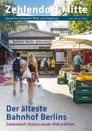 Titelbild Zehlendorf Mitte Journal 2/2020