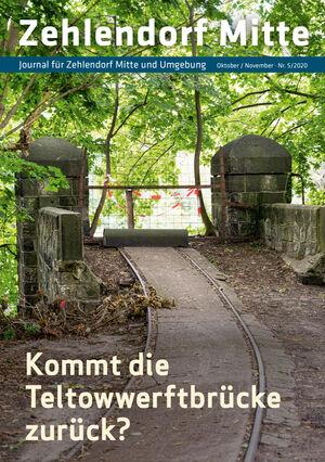 Titelbild Zehlendorf Mitte Journal 5/2020