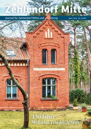 Titelbild Zehlendorf Mitte Journal 2/2021