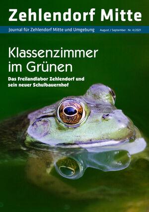 Titelbild Zehlendorf Mitte Journal 4/2021